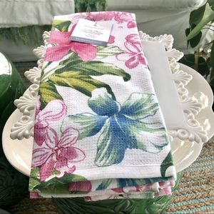 Tommy Bahama Spring Kitchen Towels